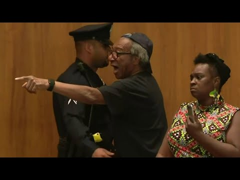 Frankie Darcell - Detroit Charter Revision Committee Ends In Arrest!!!!