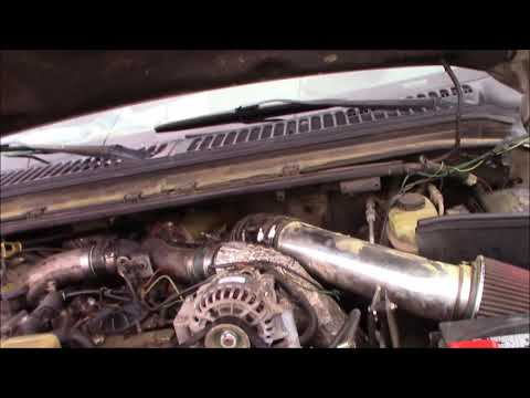 ford 7 3 fix valve cover harness plug disconnecting - youtube ford wiring  harness ucv on
