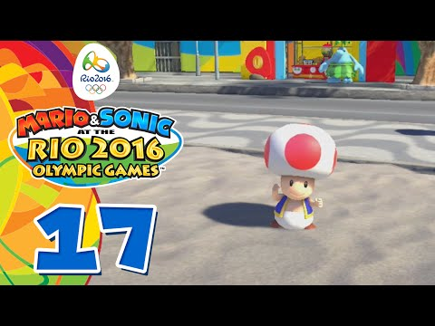 Mario & Sonic at the Rio 2016 Olympic Games #17 [Wii U] - Rio 2016 Tournament: 4x100m Relay