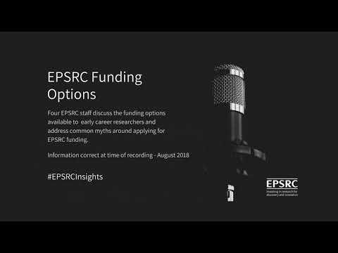 EPSRC Funding Options