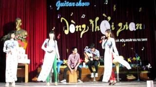 """Áo Dài Ơi - AOF GUITAR CLUB - guitar show """" Dòng Thời Gian"""""""