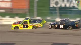 All NASCAR Crashes from Iowa (2018)