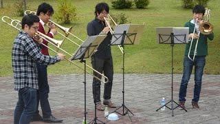 10月に秋田で行われた、バーベキュー大会での演奏の模様です。 PCでの...