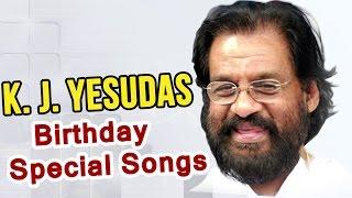 K J Yesudas Birthday Special Telugu Video Songs || Back 2 Back Telugu Jukebox Songs
