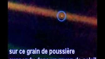 Un point bleu pâle- Carl SAGAN (sous-titres français)