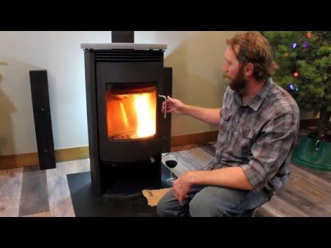 Rais Wood Stove Operation (Part 1) - Lighting The Fire