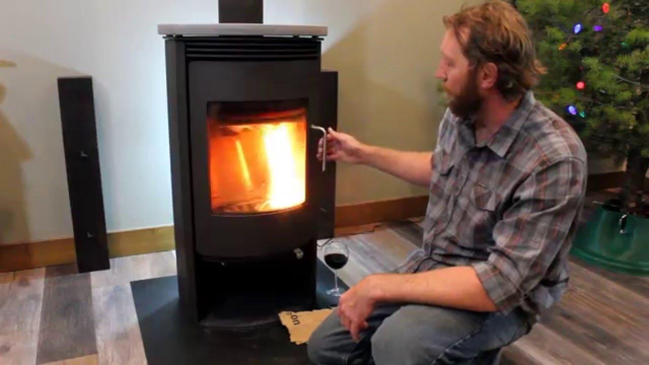 Rais Wood Stove Operation Part 1 Lighting The Fire