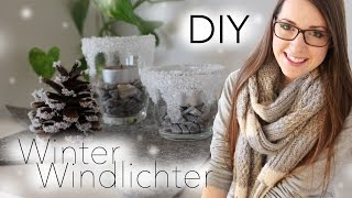 DIY | Winter Windlichter & Meine Xmas Deko 2015