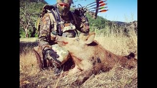 "California Archery Wild Boar Hunt.  ""Surroundings"""