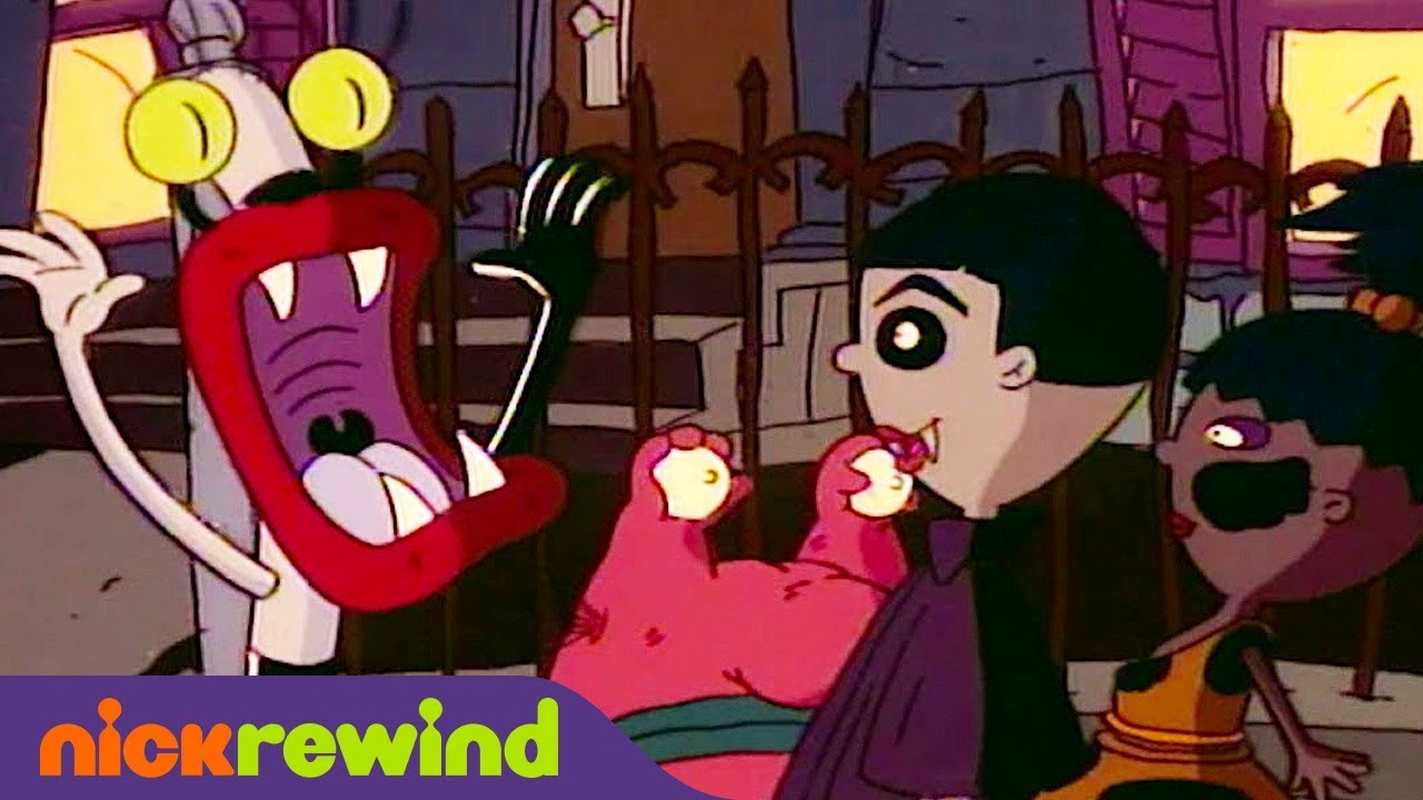 Blending In On Halloween Aaahh Real Monsters Nickrewind Youtube