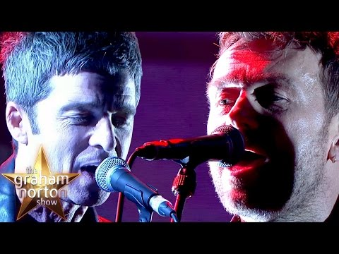 Gorillaz - We Got The Power / LIVE with Noel Gallagher & Jehnny Beth on The Graham Norton Show
