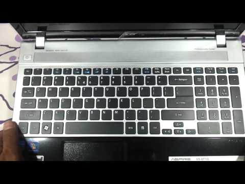 acer aspire V3 571G video review in hd first look and feel hands on