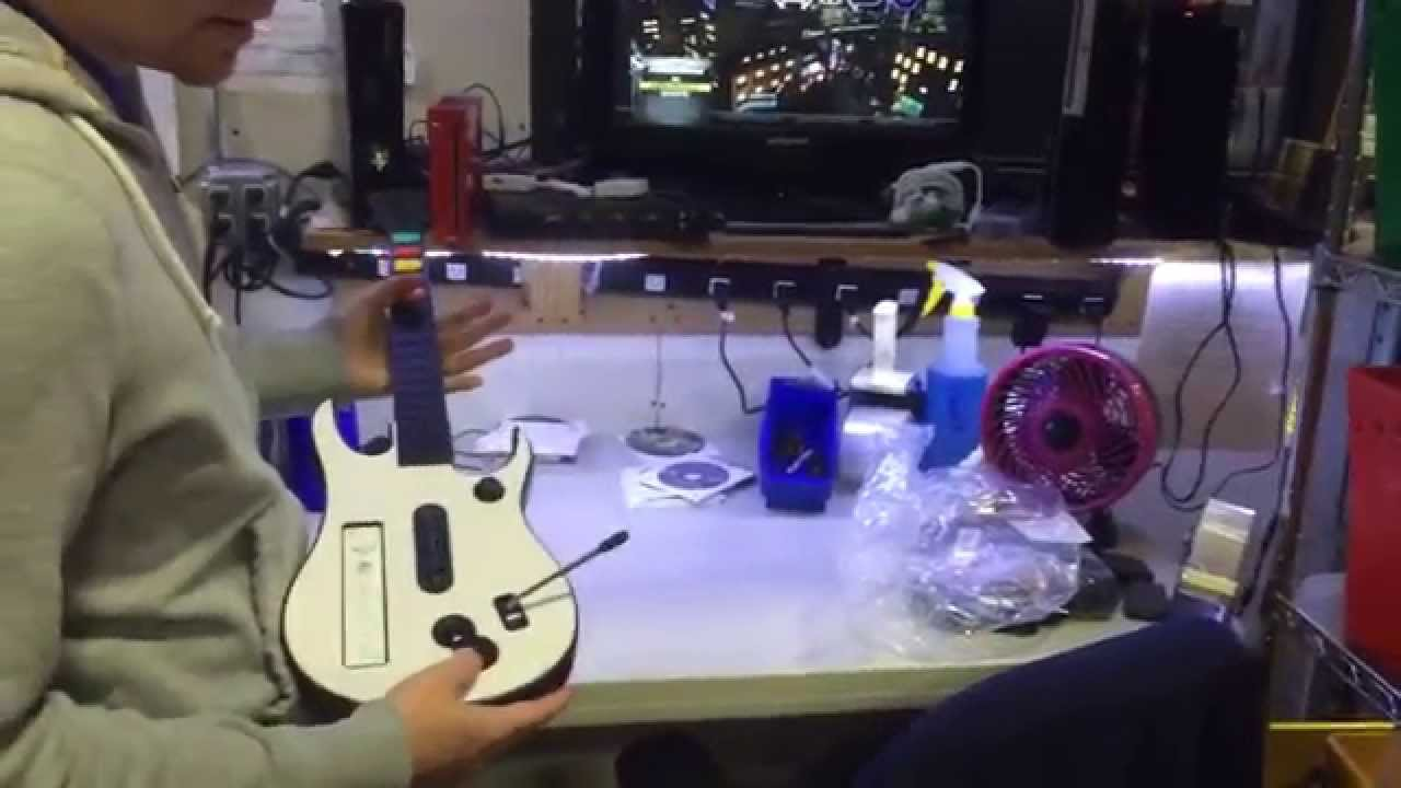 Wii Compatible Rock Band and Guitar Hero Guitar Controller ...
