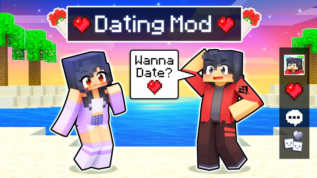 Download Using The DATING MOD In Minecraft!