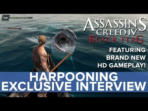 Assassin's Creed 4 - EXCLUSIVE Harpooning Interview - Eurogamer