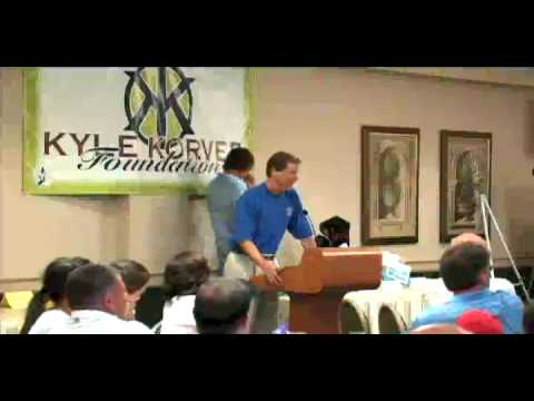 NIck Bahe's Dana Altman Impression at Korver Golf Banquet