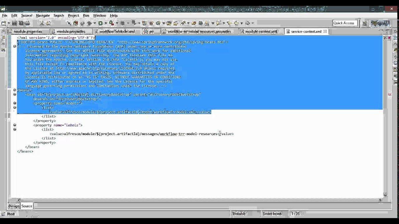 Alfresco Workflow with Activiti Part 1