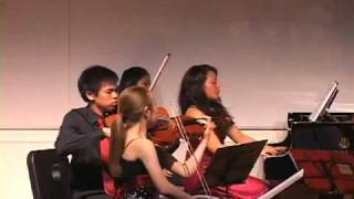 Dvorak Piano Quintet in A Major op. 81: 1st movement (Part 1)