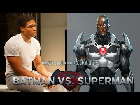 Batman/Superman Casts Cyborg to Be Played by RAY FISHER