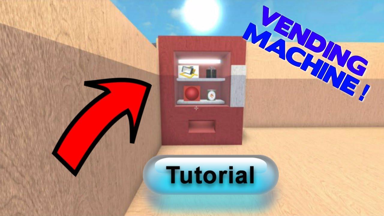 how to make a vending machine