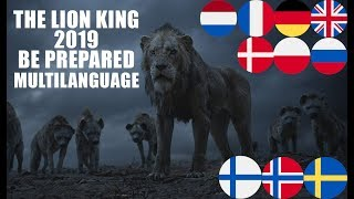 Download The Lion King 2019 Be Prepared Multilanguage mp3
