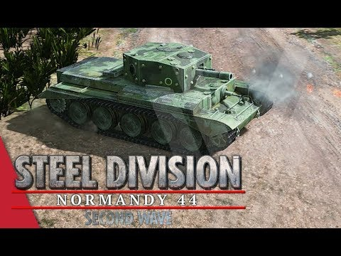 TGPT Round 1! Steel Division: Normandy 44 - DuroSVK vs Gal_Oneill (Game 1, Colleville)