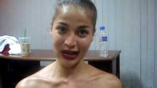 Greetings from Anne Curtis. :)