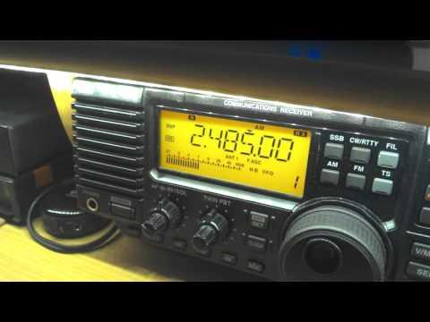 ABC Northern Territory, 2485 kHz, 20:39 UTC, very weak