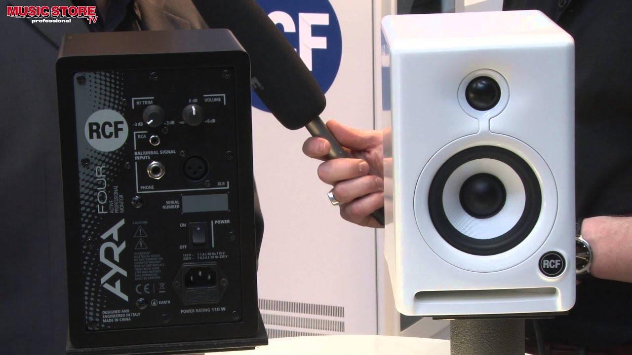 Musikmesse 2013 - RCF Ayra Four 4 Monitor Speaker (english)
