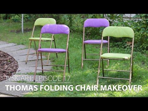 JYSKart Episode 17: THOMAS Folding Chair Makeover