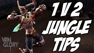 Tips On Being 1 v 2 In The Jungle | Krul Gameplay | Vainglory