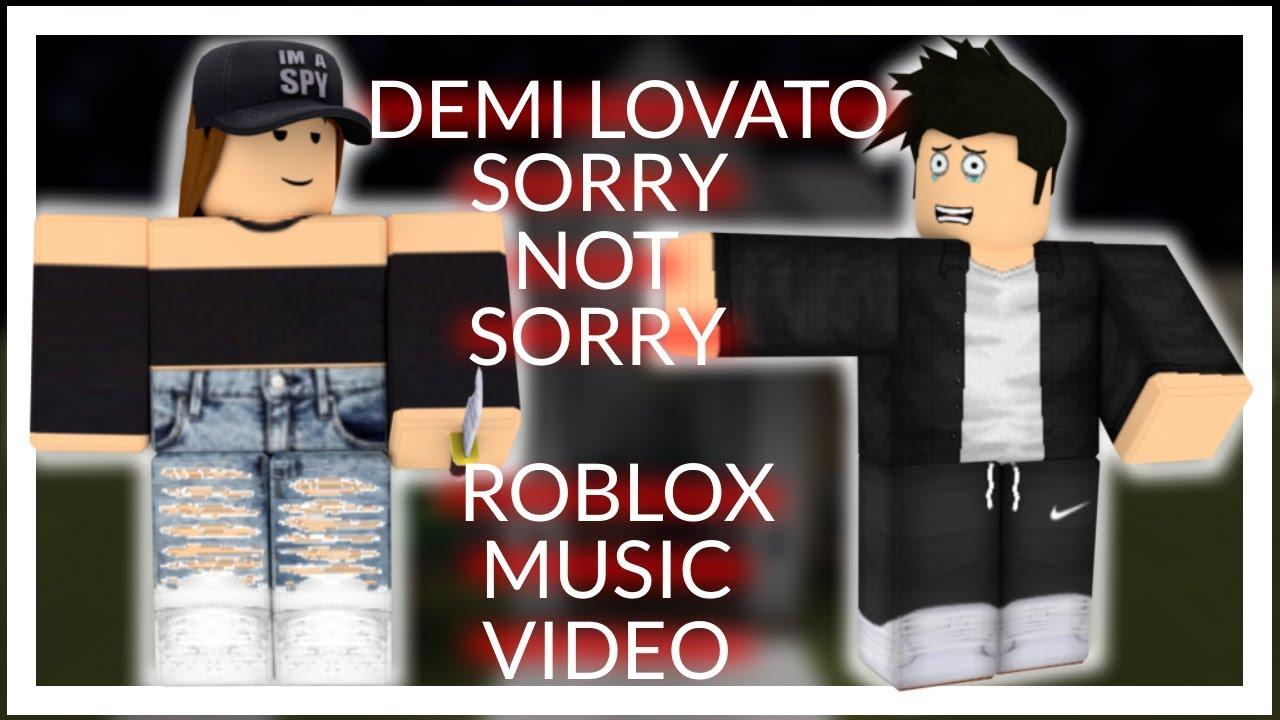 Roblox Frozen Antlers Of Everfrost Demi Lovato Sorry Not Sorry Roblox Bully Sad Love Story Music Video Youtube