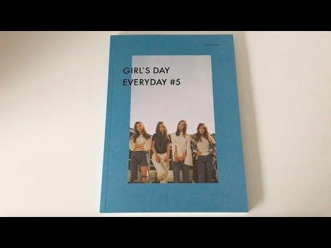 ♡Unboxing Girl's Day 걸스데이 5th Mini Album Everyday #5 에브리데이 #5♡