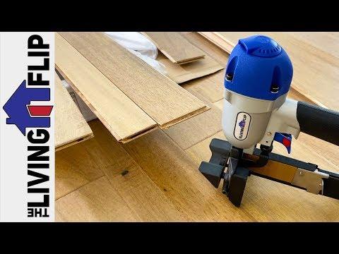 Hardwood Floor Installation // TLF 11