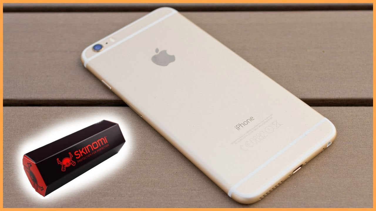 online store 6b865 0c0ae Skinomi Review & Installation iPhone 6 plus