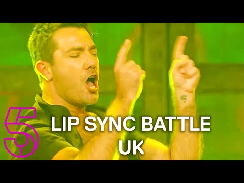 Gino D'Acampo Does 'Mysterious Girl' in Front of Peter Andre | Lip Sync Battle UK | Channel 5