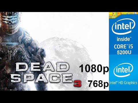 Dead Space 3 on Integrated Graphics, Intel HD 5500 + Core i5 5200u, HP Pavilion 15-ab032TX Laptop