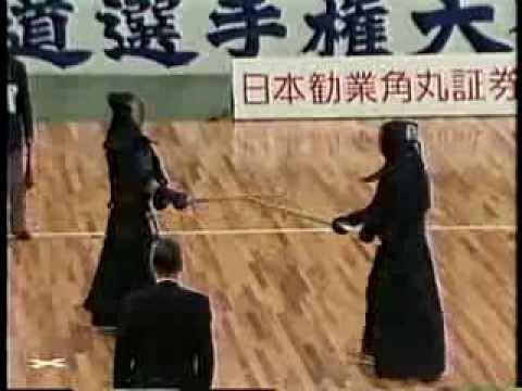 第36回 (1988) 全日本剣道選手権大会【準々決勝】林(北海道) Vs 東(愛知)