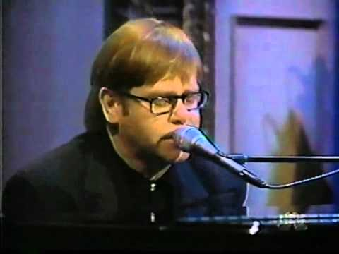 Elton John Something About The Way You Look Tonight Live Youtube