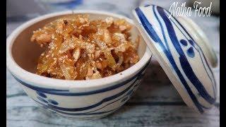 Mứt gừng dẻo, không cay mà dẻo giòn thơm thơm || Vietnamese Candied Ginger || Natha Food