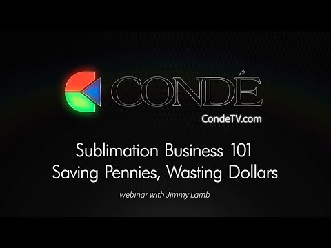 Sublimation Business 101  Saving Pennies, Wasting Dollars
