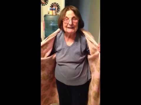93 year old Granny is a flasher