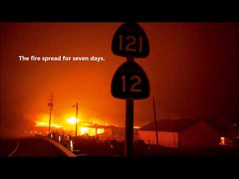 The Fire Storm of Sonoma County, California