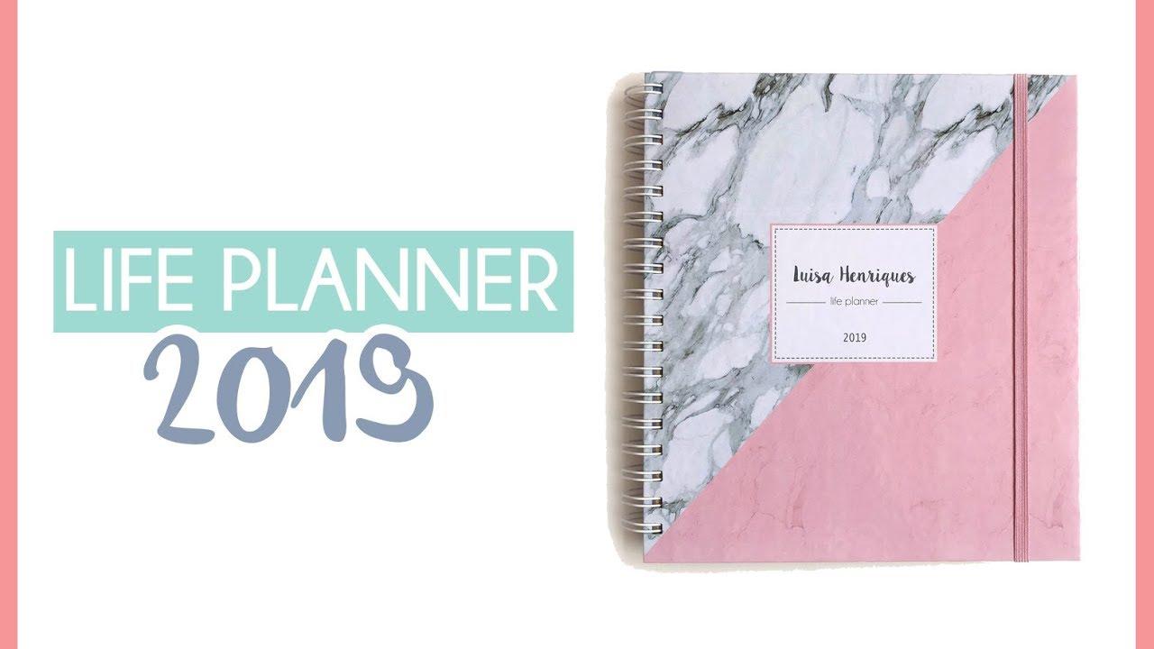 LANÇAMENTO Life planner + coleção 2019 - YouTube