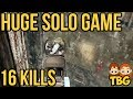 HUGE 16 KILL SOLO GAME // PUBG Xbox One Gameplay