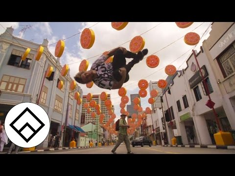The Lion City Gathering - Singapore 2015 | Team Farang | Freerunning