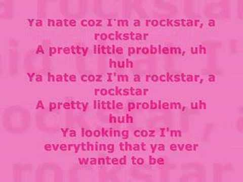 Prima J - Rockstar with Lyrics
