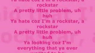 Prima J - Rockstar with Lyrics