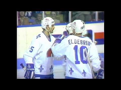 Habs vs Nordiques highlights 1982-83 season