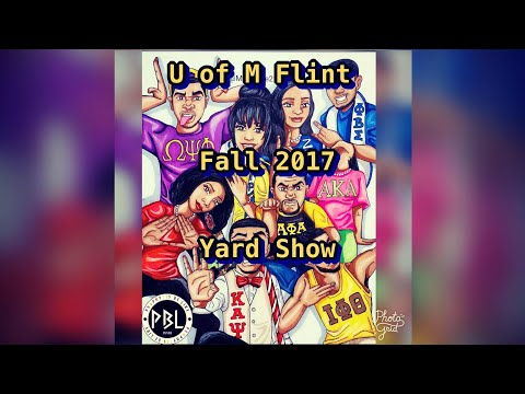 2017 U of M Flint Fall Yard Step Show- Shot by Omar_Odb